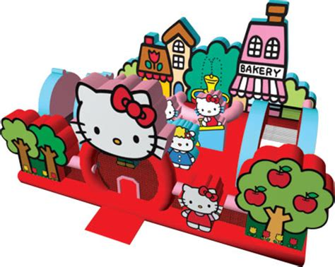 hello kitty house toddler bounce house rentals party rental miami