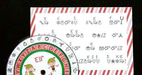 printable elf decoder free secret elf decoder awesome stem activity for kids