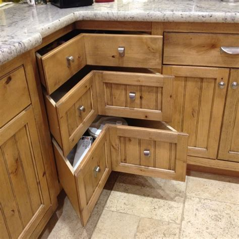 Drawers For Cabinets Kitchen 13 Corner Kitchen Cabinet Ideas To Optimize Your Kitchen Space Beautifully Homeideasblog