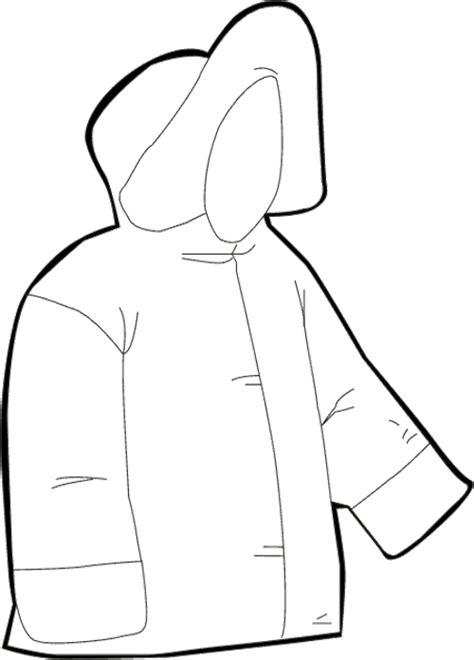 printable coloring page of a jacket coloring page of a coat clipart best