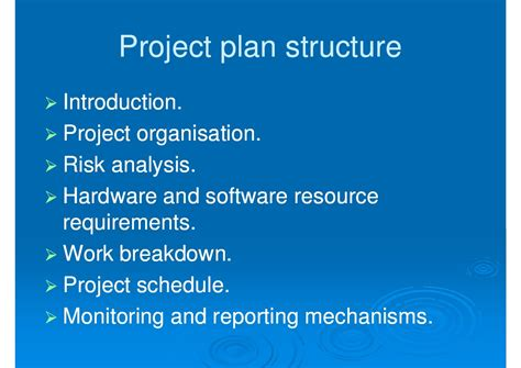 imt lecture creating project plans to focus product imt lecture creating project plans to focus product