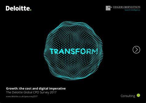 The Deloitte Global Chief Procurement Officer Survey 2017 Deloitte Powerpoint Template 2017