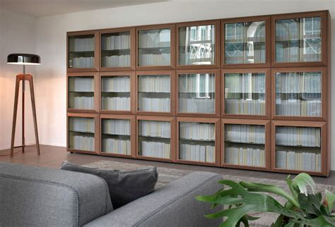 Contemporary Bookcase With Doors Modern Bookcase With Glass Doors Bookcase With Glass Doors Home Design By