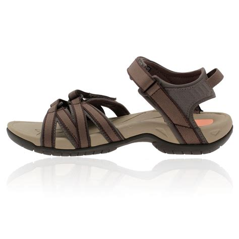 sandals for walking teva womens tirra brown spider rubber outdoors sports