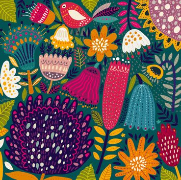 Hawaiian Pattern Cdr | tropical pattern vector free vector download 19 016 free