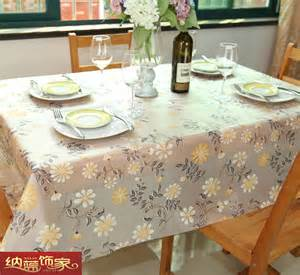 Waterproof Dining Table Cloth Waterproof Table Cloth Tablecloth Pvc Disposable
