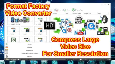 format factory compress video how to reduce video size for smaller resolution using