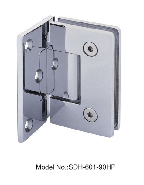 90 Degree Pvd Shower Door Hinges Glass To Wall With Half Glass Shower Door Hinges