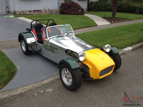 2001 caterham lotus seven 7
