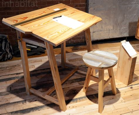 How To Make A Drafting Table Small Wood Work Desk How To Build A Drafting Table Setting Up A Small Wood Workshop Build