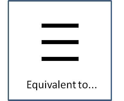Symbol For Equivalent