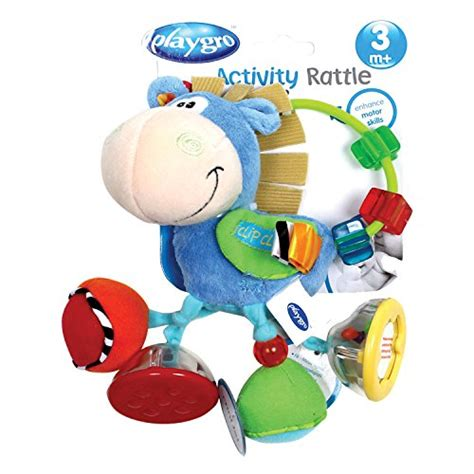 playgro clip clop activity baby rattle baby toys zone