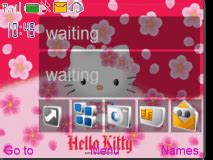nokia c2 gif themes hello kitty mobile themes for nokia asha 210