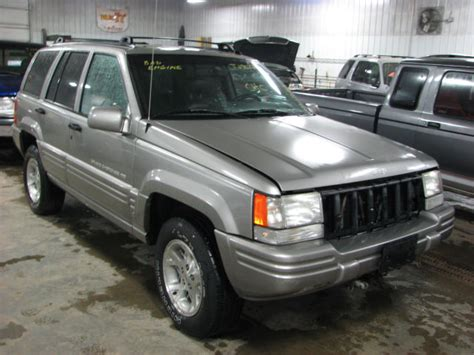 1997 Jeep Grand Transmission 1997 Jeep Grand Automatic Transmission 19964996