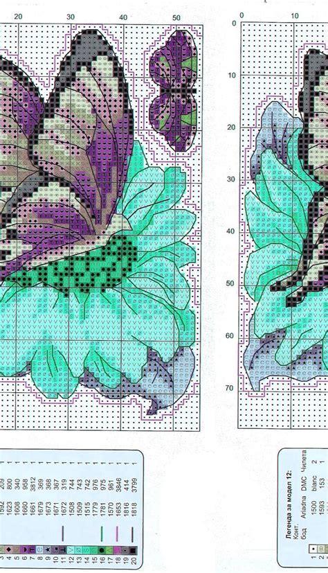 schemi punto croce farfalle e fiori ricami e schemi a punto croce gratuiti schemi farfalle e