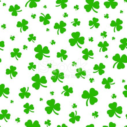clover leaf pattern horses clover seamless pattern stock vector freeimages com