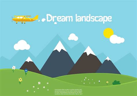 vector free free vector nature landscape free vector