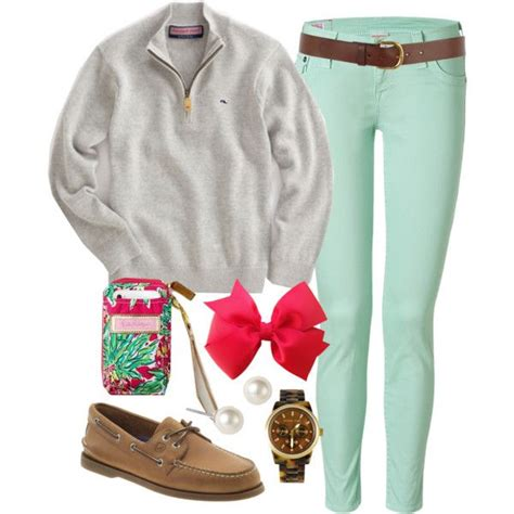 chilly spring  classically preppy  polyvore cold