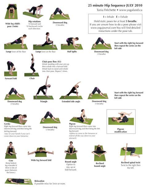 printable hip flexor stretches pdf sharon karam