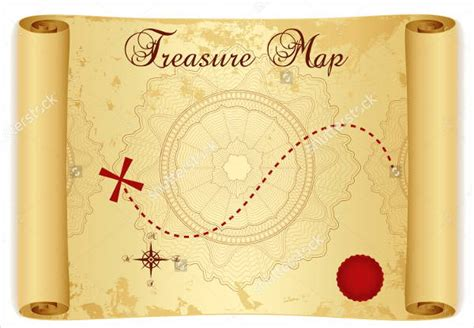 6 treasure map templates free excel pdf documents