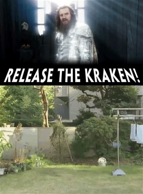Release The Kraken Meme - religion the litter box