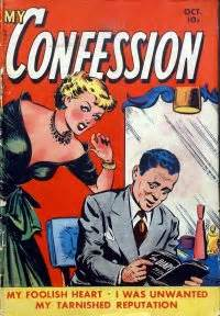 my confession books my confession 8 fox feature syndicate comic book plus