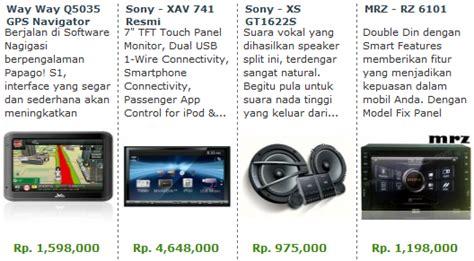 Harga Tv Untuk Mobil Merk Jec aneka merk audio mobil murah berkualitas