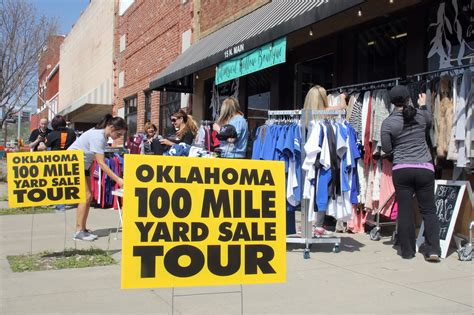 Garage Sale Okc by 100 Mile Garage Sale Starts This Friday Sapulpa Times