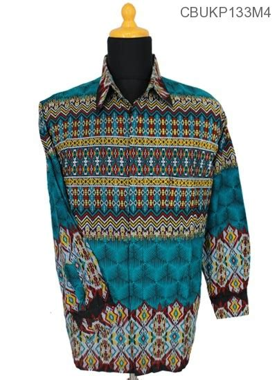 Baju Batik Rangrang Baju Batik Kemeja Panjang Motif Rangrang Kemeja Lengan