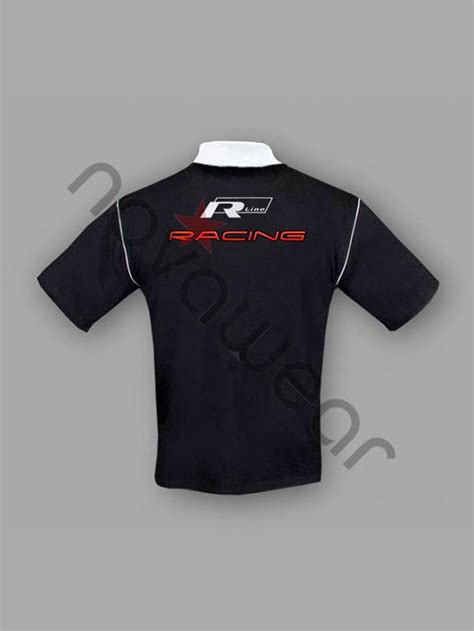 Tshirt Vw Black 2 volkswagen r line polo shirt black vw jackets vw clothing