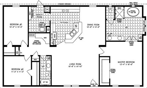 2 bedroom open floor house plans four split 2018 also