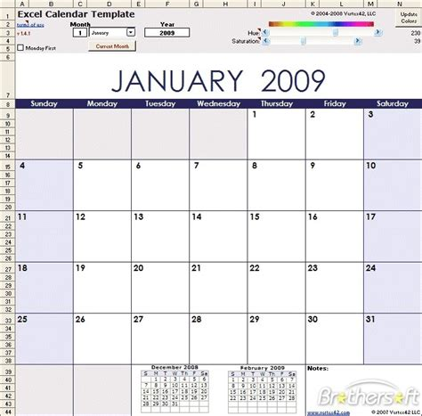 microsoft excel calendar template free excel calendar template excel calendar