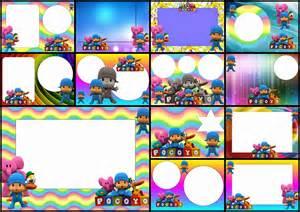 oh my baby pocoyo with rainbow background free