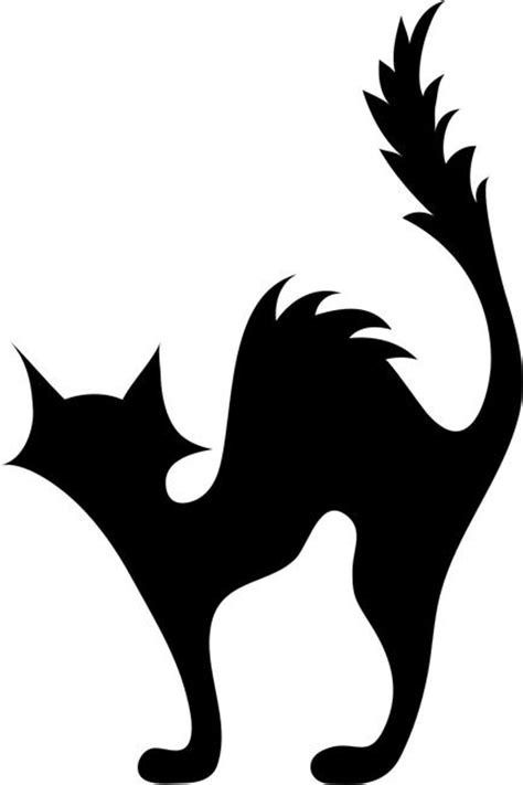 black cat templates for best 25 stencils ideas on pumpkin