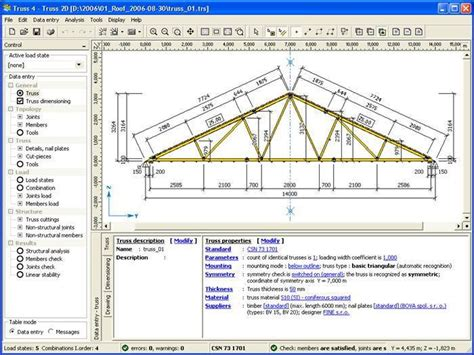 Free Floor Plan Programs by Truss4 Roof Truss Design Software