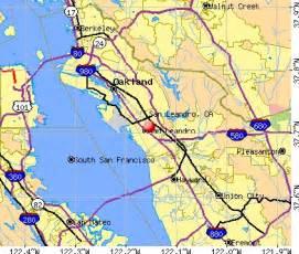map of san leandro california san leandro ca san leandro california