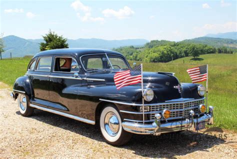 chrysler imperial limousine for sale 1947 chrysler imperial crown limousine ccca highway cruiser