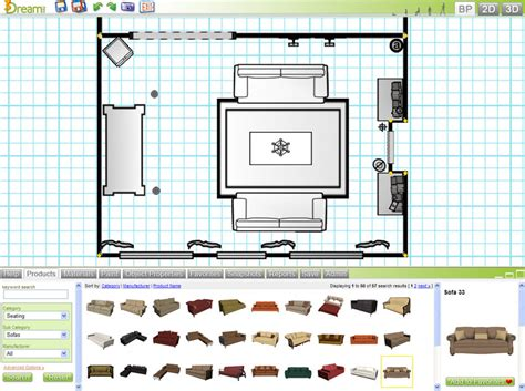 Room Layout Planner by Free 3d Room Planner 3dream Basic Account Details
