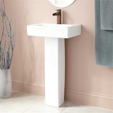 petite pedestal bathroom sinks victorian ultra petite pedestal sink bathroom