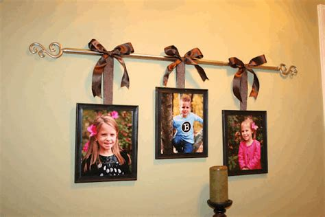Easy Way To Hang Curtains Decorating Diy Friendly Decorations Hanging Frames And Hang Pictures