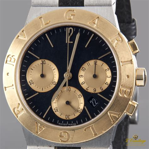 Bvlgari Quartz Crono 2 Jpg bulgari sport chrono quartz acero y oro imx 183 joyeria l