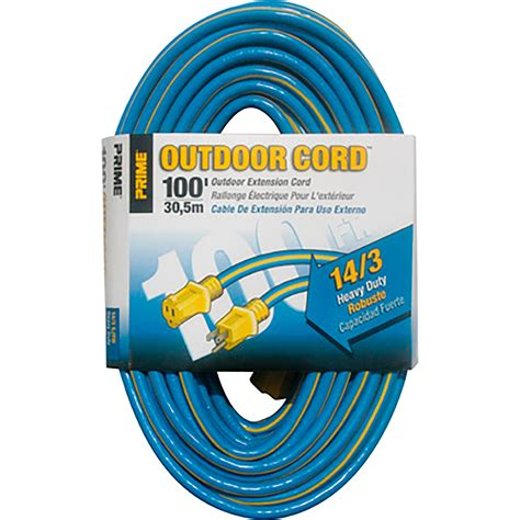 100 ft 14 outdoor extension cord prime wire cable outdoor extension cord 100 ft 14 3