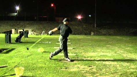 one handed golf swing no hinge short back swing one handed release golf