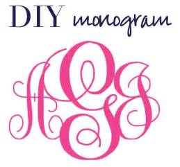 script maker template 4 best images of printable free monogram fonts create a