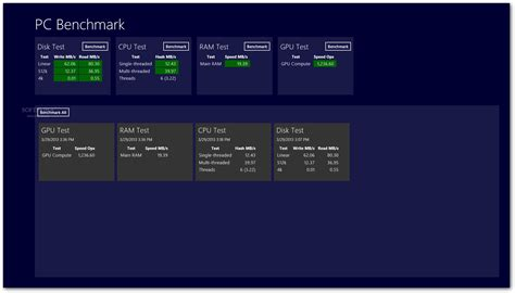 pc bench mark pc benchmark for windows 8 download