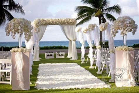 Gazebo wedding ceremony aisle decorations Archives