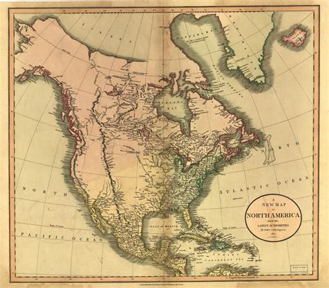 map of the united states in 1800 maps of 19th century america