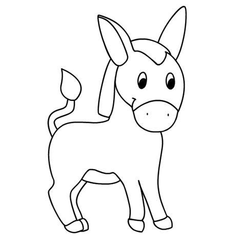 images  printable picture   donkey donkey