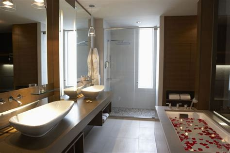 hotel bathroom design home design ideas