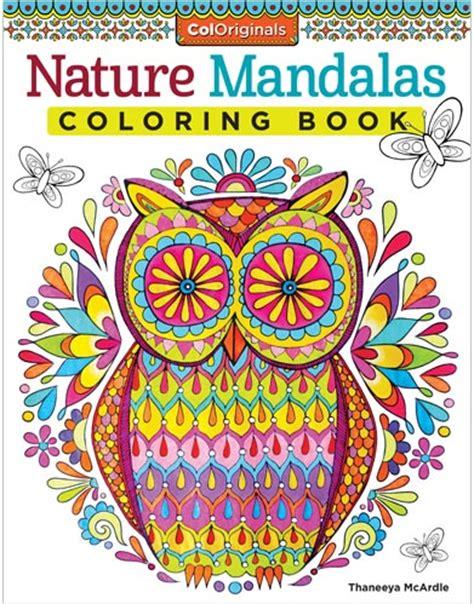 nature mandalas coloring book by thaneeya mcardle thaneeya